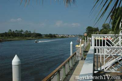 the intracoastal waterway through north myrtle beach