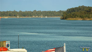 Intracoastal Waterway in Little River, SC
