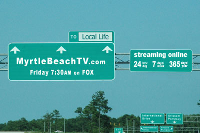 myrtle beach TV show featuring local life