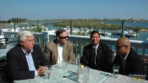 Political talks in Murrells Inlet