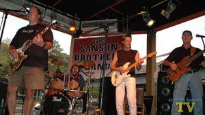 The Sanson Brothers play at HB Spokes on Highway 9 on the North end of the Grand Strand